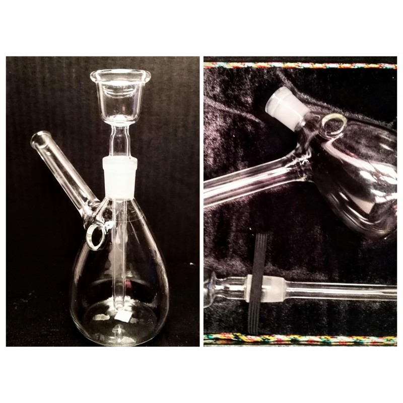 Glass Bong JGH14 with box 15cm